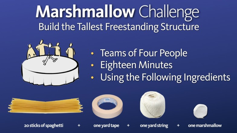 the marshmallow challenge instructions