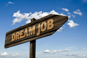 taking steps to your first day of work which can turn into your dream job