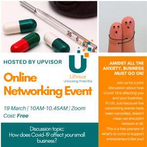 Online Networking Event invitation